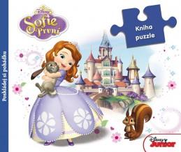 Sofie První - Kniha puzzle - Disney Walt