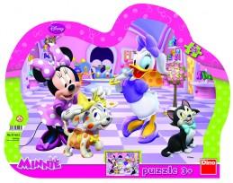 Minnie & Mazlíčci - tvarované puzzle 25 - neuveden