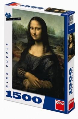 Mona Lisa - puzzle 1500 dílků - neuveden