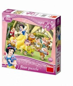 Sněhurka - Maxi puzzle 24 dílků - neuveden