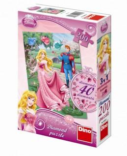 Šípková Růženka - puzzle Diamond 200 díl - neuveden