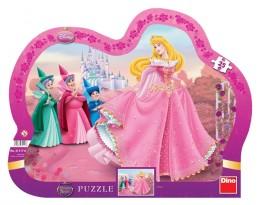 Šípková Růženka - tvarované puzzle 25 dí - neuveden