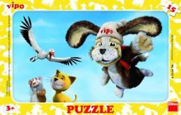 Vipo Kamarád - rámové puzzle 15 dílků - neuveden