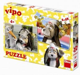 Vipo v Evropě - puzzle 2 motivy v balení - neuveden