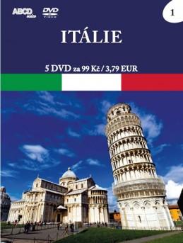 Itálie - 5 DVD - neuveden