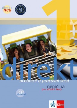 Direkt neu 1 – učebnice s pracovním sešitem a 2CD + výtah z cvičebnice německé gramatiky - neuveden