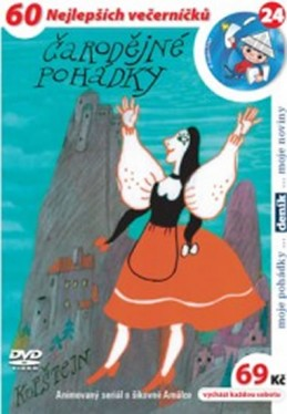 Čarodějné pohádky - DVD - Kubín Josef Štefan