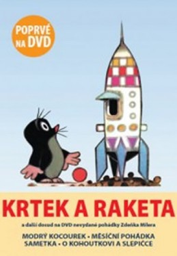 Krtek a raketa - DVD - Miler Zdeněk