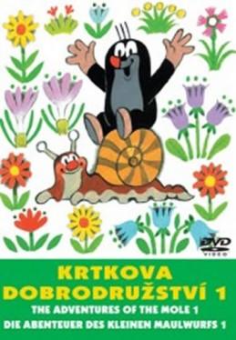 Krtkova dobrodružství 1. - DVD - Miler Zdeněk