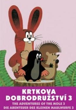 Krtkova dobrodružství 3. - DVD - Miler Zdeněk
