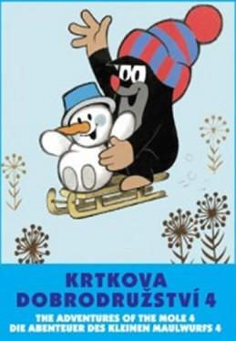 Krtkova dobrodružství 4. - DVD - Miler Zdeněk