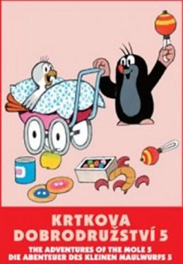 Krtkova dobrodružství 5. - DVD - Miler Zdeněk