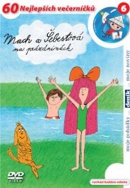 Mach a Šebestová na prázdninách - DVD - neuveden
