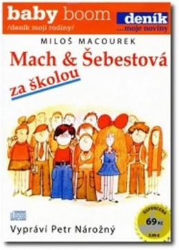 Mach a Šebestová za školou - CD - neuveden