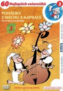 Pohádky z mechu a kapradí 3. - DVD - Smetana Zdeněk