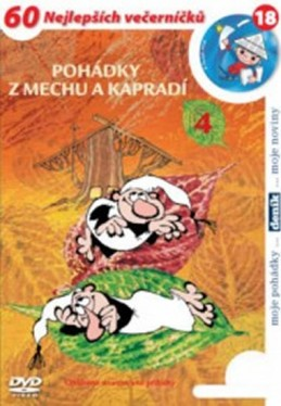Pohádky z mechu a kapradí 4. - DVD - Smetana Zdeněk