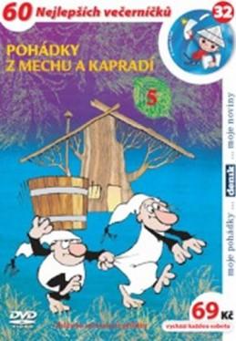 Pohádky z mechu a kapradí 5. - DVD - Smetana Zdeněk