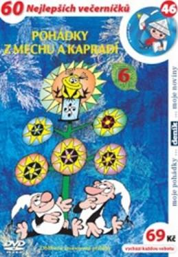Pohádky z mechu a kapradí 6. - DVD - Smetana Zdeněk