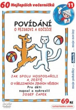 Povídání o pejskovi a kočičce - DVD - Čapek Josef