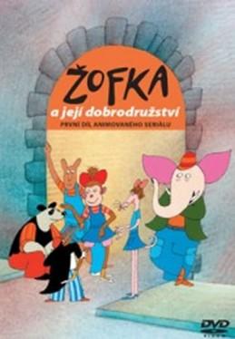 Žofka a její dobrodružství 1. - DVD - Macourek Miloš