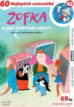 Žofka a její dobrodružství 2. - DVD - Macourek Miloš