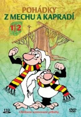 Pohádky z mechu a kapradí 1/2 - DVD - Smetana Zdeněk
