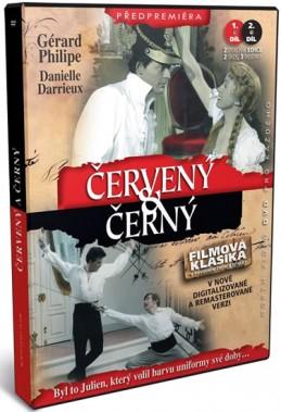 Červený a černý - kolekce 2 DVD - Stendhal