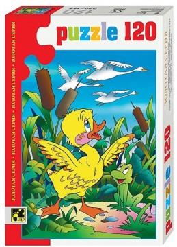 Puzzle 120 Pohádky - Ošklivé kačátko - neuveden