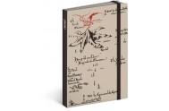 Notes - Hobbit krémová