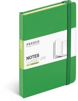 Notes - Notes Tucson - A5, zelená - neuveden