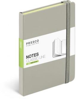 Notes - Notes Tucson - A5, krémová - neuveden