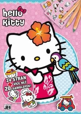 Hello Kitty - Omalovánky A4+ - neuveden