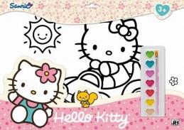 Hello Kitty - Omalovánkové sety - neuveden