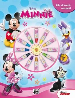 Minnie - Omalovánky s voskovkami - neuveden
