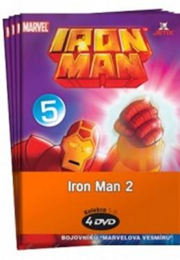 Iron Man 2. - 5 - 8 / kolekce 4 DVD - neuveden