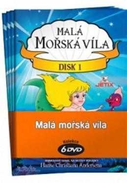 Malá mořská víla 1 - 6 / kolekce 6 DVD - neuveden