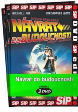 Návrat do budoucnosti 1 - 3 / kolekce 3 DVD - neuveden