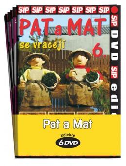 Pat a Mat 1 - 6 / kolekce 6 DVD - neuveden