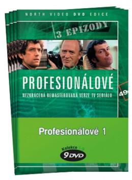 Profesionálové 1. - kolekce 9 DVD - neuveden