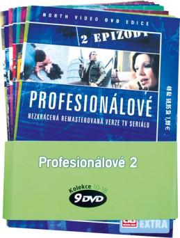 Profesionálové 2. - kolekce 9 DVD - neuveden