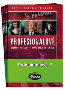 Profesionálové 3. - kolekce 9 DVD - neuveden