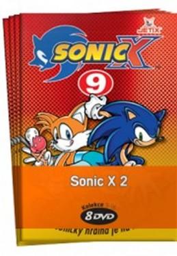 Sonic X 2. - kolekce 8 DVD - neuveden