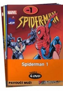 Spiderman 1. - kolekce 4 DVD - neuveden