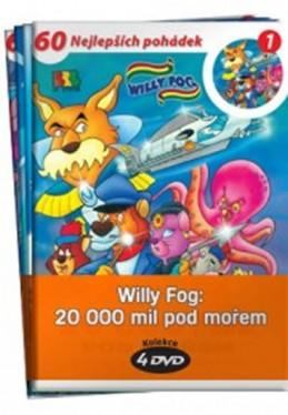 Willy Fog: 20.000 mil pod mořem - kolekce 4 DVD - Verne Jules