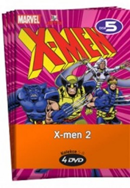 X-men 2. - kolekce 4 DVD - neuveden
