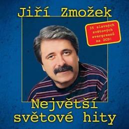 Jiří Zmožek - Největší světové hity - 2 CD - neuveden