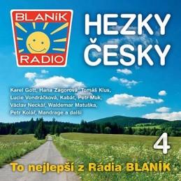 Rádio Blaník - Hezky česky 4 - CD - neuveden