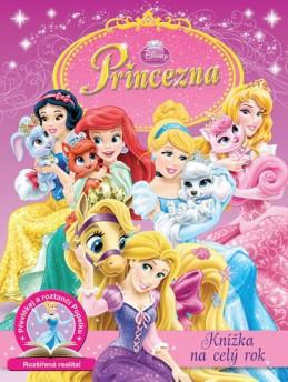 Princezny - Knížka na celý rok - Disney Walt