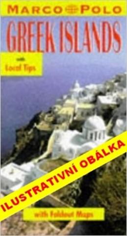 Řecké ostrovy v Egejském moři - Průvodce se skládací mapou - neuveden