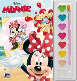Minnie - Omalovánky s barvami A5 - neuveden